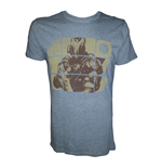 T-shirt DESTINY Titan on Yellow Blocks - S