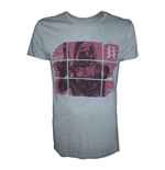 T-shirt DESTINY Hunter on Red Blocks Pattern - L