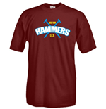 T-shirt Hammers supporter