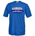 T-shirt Bushwakers supporter