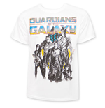 T-shirt bianca Guardians of the Galaxy