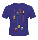 T-shirt Star Trek Guess The Trexel Purple