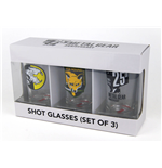 Set Bicchierini da shot Metal Gear