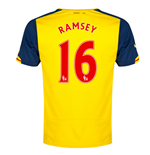 Maglia Arsenal 2014-15 Away Shirt (Ramsey 16)