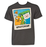 T-shirt Adventure Time photobomb