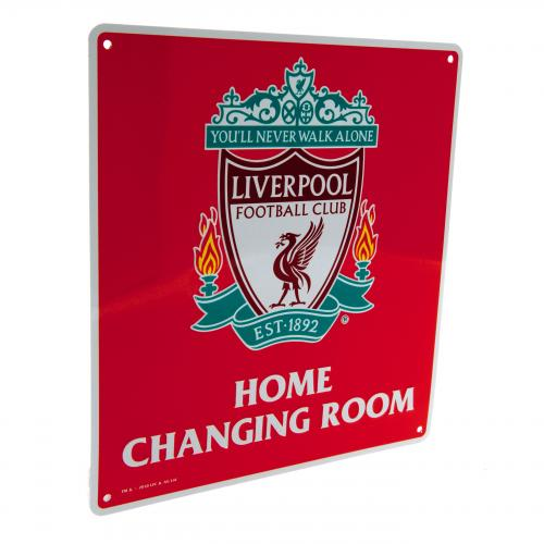 Targhetta Liverpool FC Home Changing Room