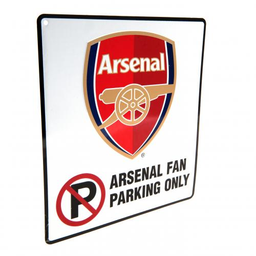 Targhetta Arsenal No Parking