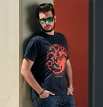 "T-shirt Game Of Thrones ""Fire And Blood"""
