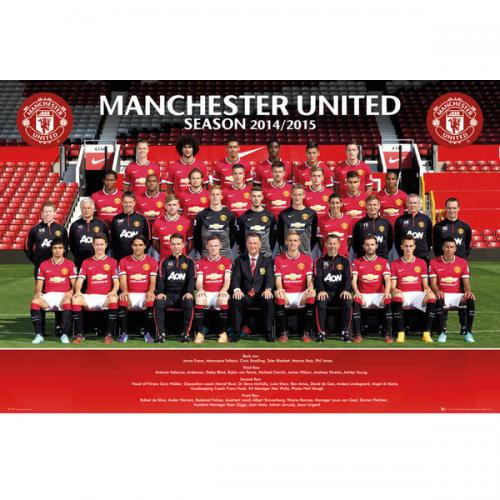 Poster Manchester United 124394