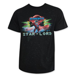 "T-shirt nera  Guardians of the Galaxy ""Star Lord"""