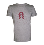 T-shirt DESTINY Red Hunter Logo - L