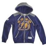 Los Angeles Lakers Felpa Cappuccio FULL-ZIP Bambino