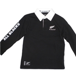 All Blacks Polo Manica Lunga Bambino