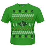 T-shirt Star Wars Yoda Fair Isle