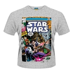 T-shirt Star Wars Han And Chewie Poster