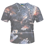 "T-shirt Star Wars ""Huge Space Battle"""