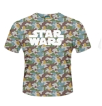 T-shirt Star Wars Boba Fett Camo