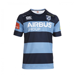 Maglia Cardiff Blues 2014-2015 Home Pro Rugby