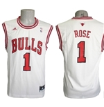 Chicago Bulls Canotta Rose Bianca