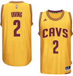 Canotta Cleveland Cavaliers Kyrie Irving adidas New Swingman Alternate Giallo