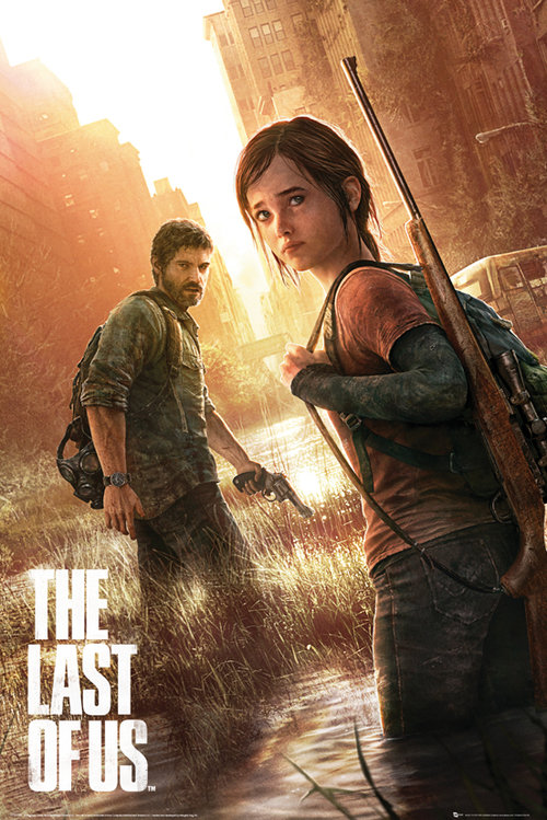 Maxi poster The Last of Us Key Art