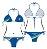 Costume Bikini Triangolo Frosinone Calcio