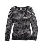 SWEATER-LUXEW/SEQUINSSTRIPED misura XS Donna