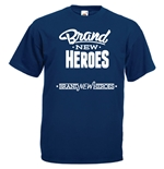 T-shirt con stampa transfer - Brand New Heroes