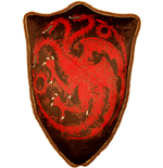 Cuscino Game of Thrones Sigil House Targaryen 56 cm