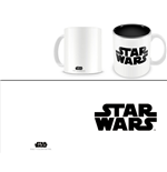 Tazza Star Wars Black Logo