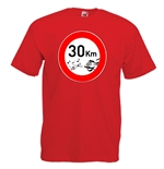 T-shirt con stampa transfer - 30KM