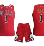 Chicago Bulls Mini Kit Rose Rosso
