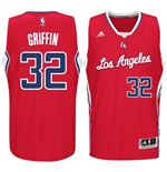 Canotta Los Angeles Clippers Blake Griffin adidas New Swingman Road Rosso