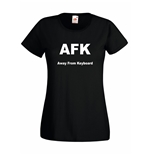 T-shirt donna AFK Away From Keyboard
