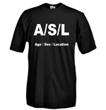 T-shirt A/S/L Age/Sex/Location