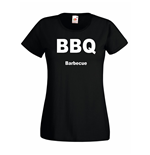 T-shirt donna BBQ Barbecue