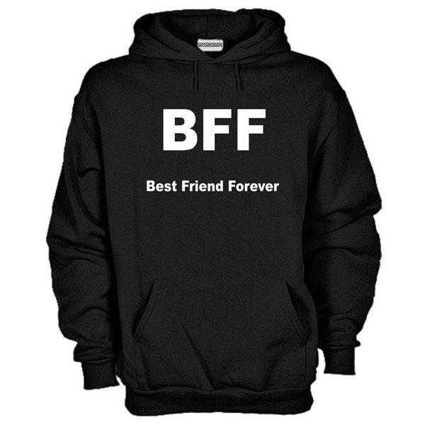 l'atteggiamento migliore db7bb d897a Felpa BFF Best Friend Forever