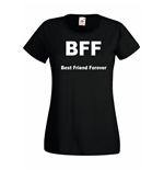 T-shirt donna BFF Best Friend Forever