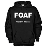 Felpa FOAF Friend Of A Friend