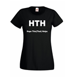 T-shirt donna Body HTH Hope This (That) Help