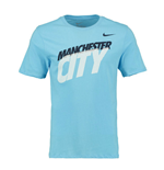 T-shirt Manchester City 2014-2015 Nike Core Type