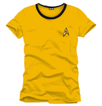 T-shirt Star Trek Uniform yellow