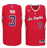Canotta Los Angeles Clippers Chris Paul adidas New Swingman Road Rosso