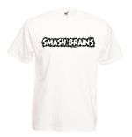 T-shirt con stampa transfer - Smash Brains