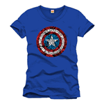T-shirt Captain America Collage Logo