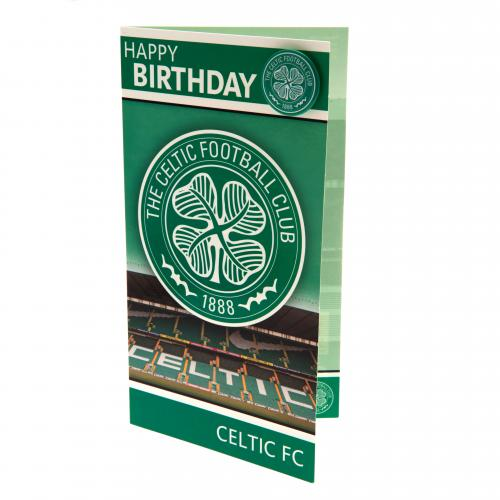 Biglietto d'auguri Celtic Football Club 130439