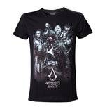 T-shirt ASSASSIN'S CREED Unity Arno & Allies - L
