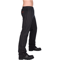 Pantaloni Aderlass Steampunk Pin Stripe