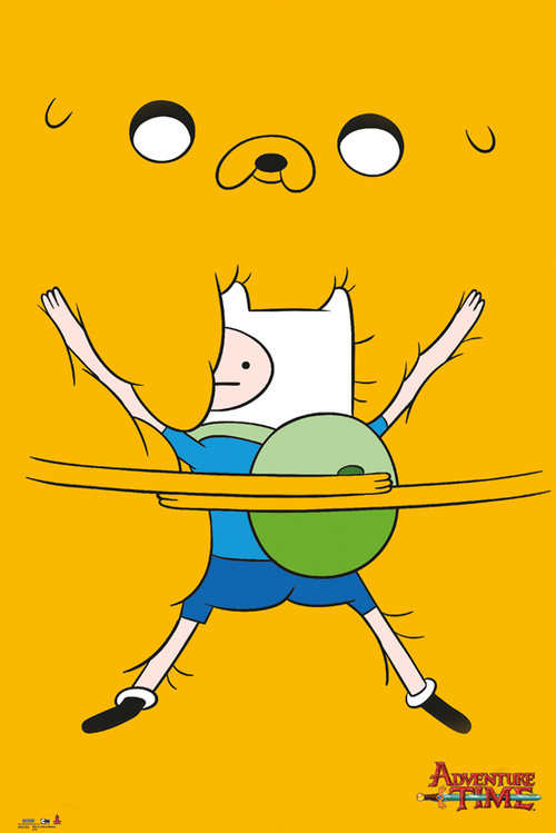 Poster Adventure Time Bro Hug
