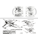 Tazza Star Wars X-Wing